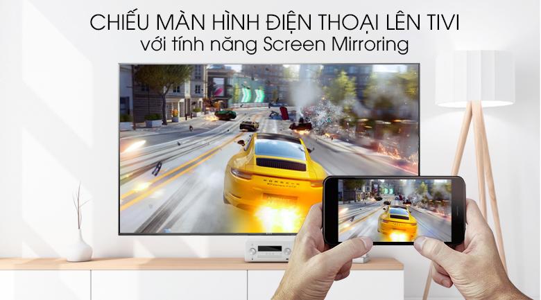 Có thể chiếu hình ảnh từ điện thoại lên tivi sony 85x9500g