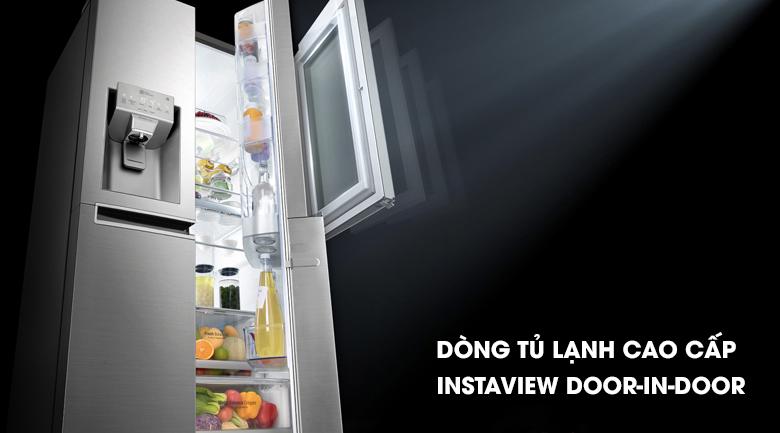 Tủ lạnh GR-X247JS với thiết kế sang trọng