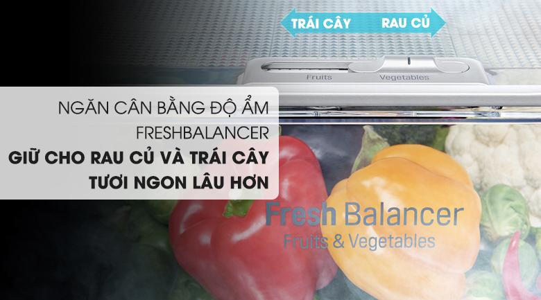 tủ lạnh GR-X247JS cân bằng ẩm tối ưu