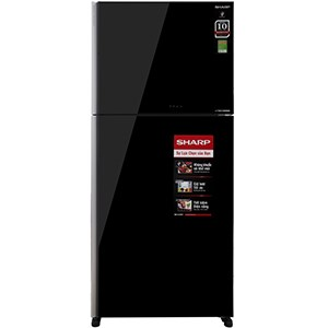 Tủ lạnh Sharp Inverter 556 lít SJ-XP595PG-BK