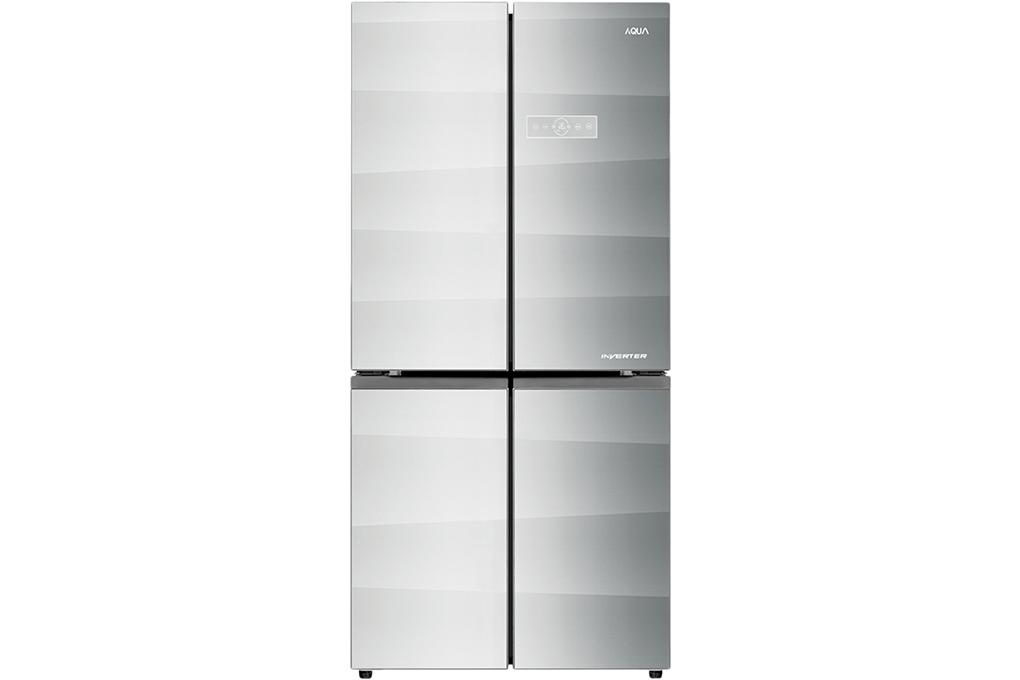 Tủ lạnh Aqua Inverter 505 lít AQR-IG595AM(GS)