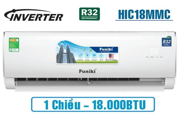 Điều hòa Funiki 18000BTU 1 chiều inverter HIC18MMC