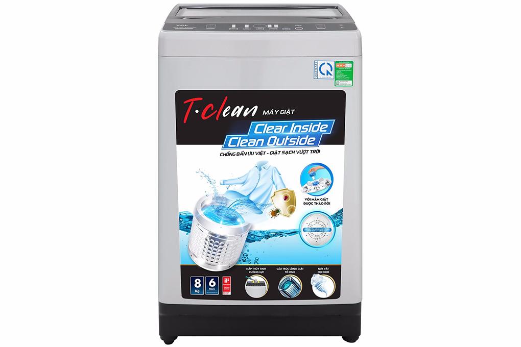 Máy giặt TCL 8 Kg TWA80-B302GM
