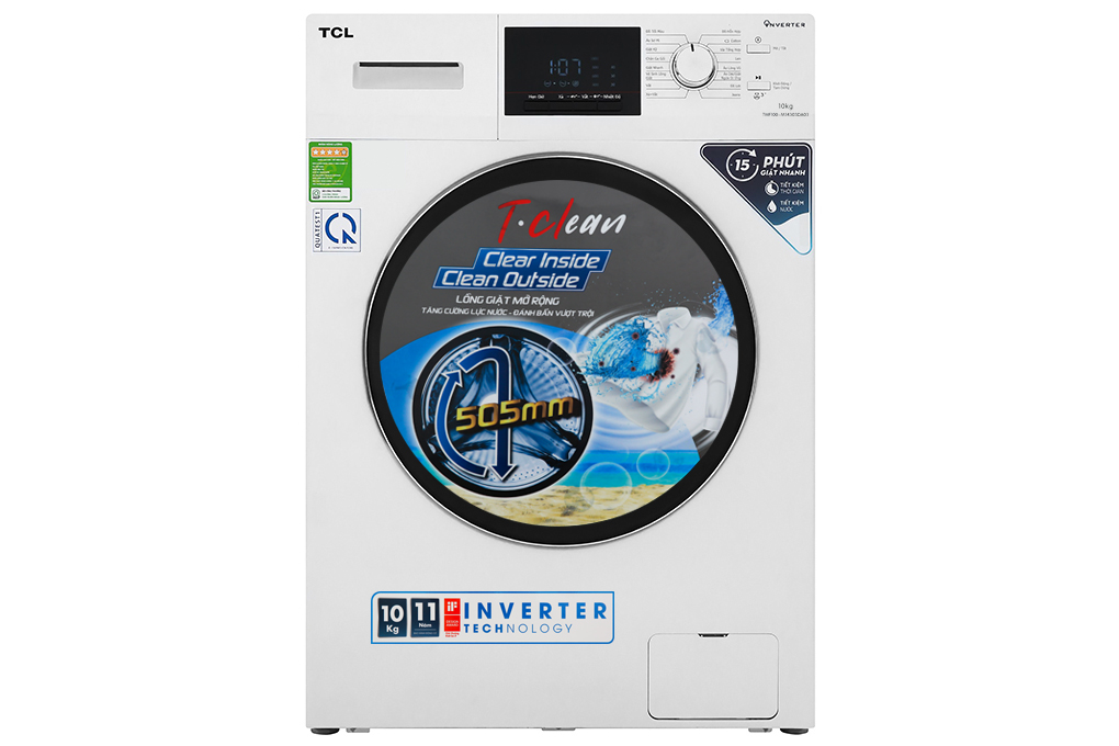Máy giặt TCL Inverter 10 Kg TWF100-M14303DA03