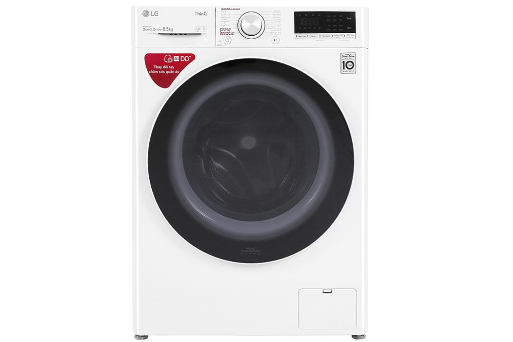 Máy giặt LG Inverter 8.5 kg FV1408S4W mới 2020