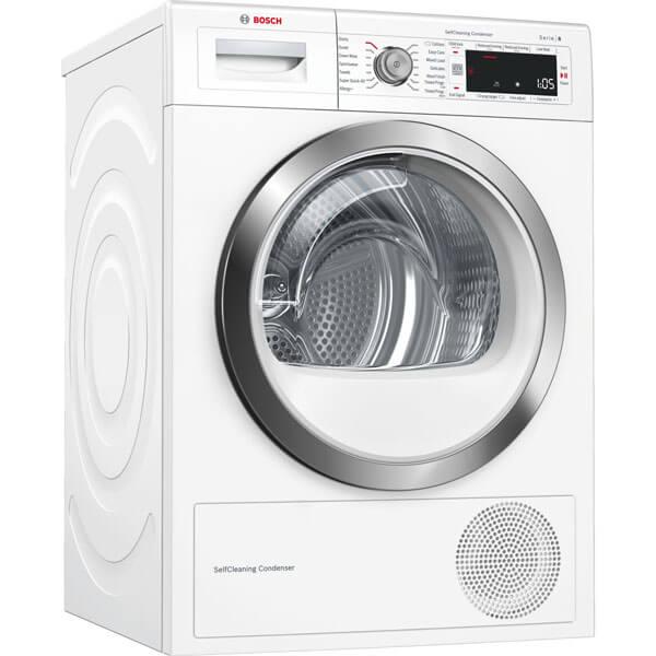 Máy sấy quần áo Bosch WTW87561SG 9kg, Seri  8