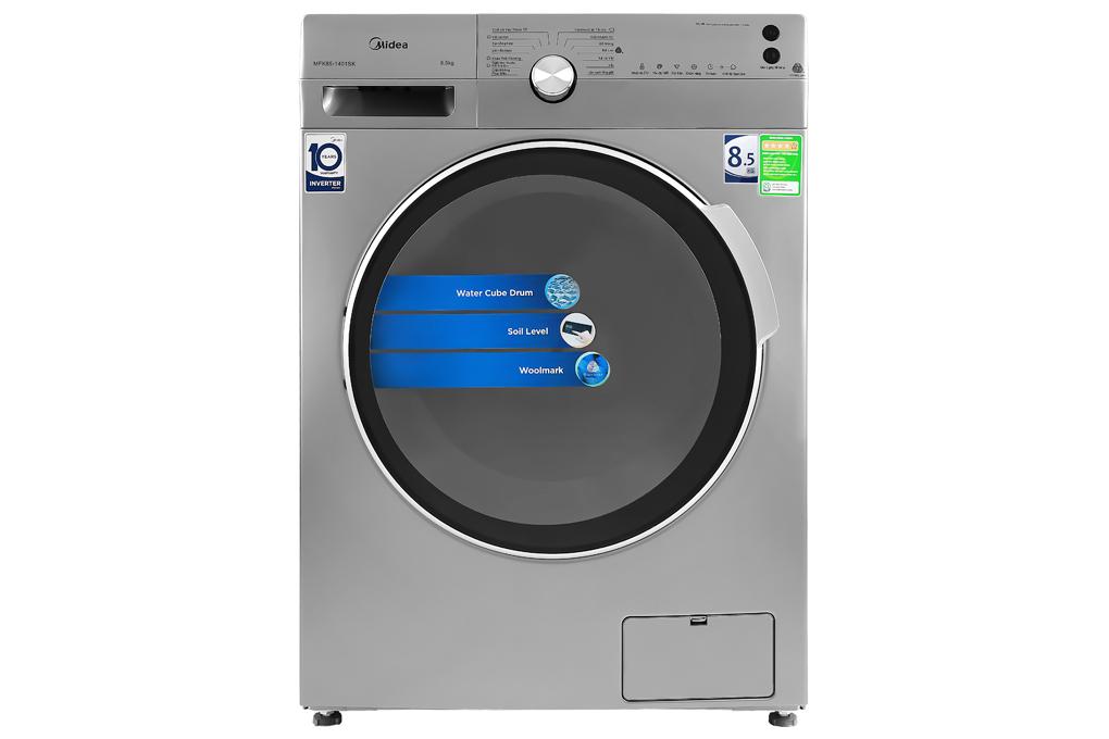 Máy giặt Midea Inverter 8.5 Kg MFK85-1401SK Mới 2020