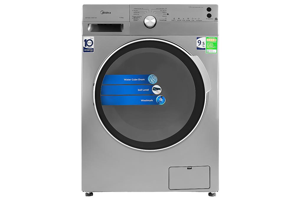 Máy giặt Midea Inverter 9.5 Kg MFK95-1401SK Mới 2020