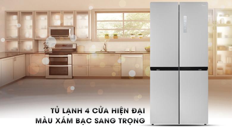 Tủ lạnh Midea Inverter 482 lít MRC-626FWEIS