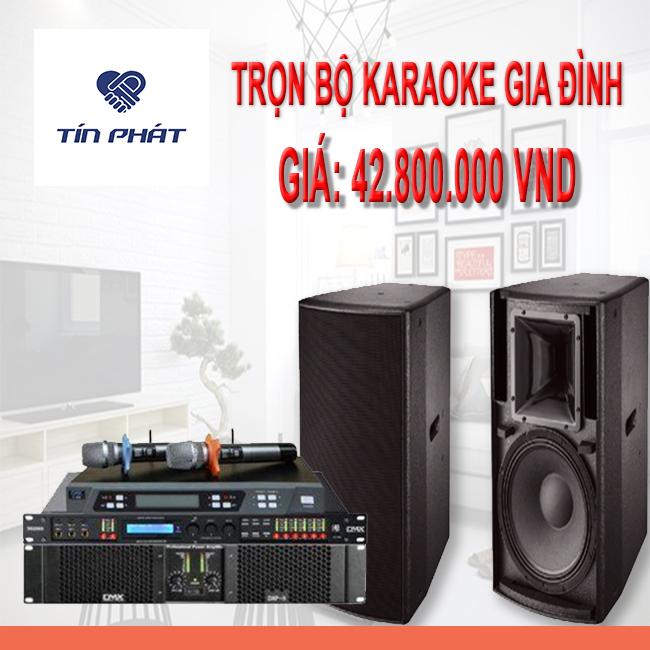 Dàn âm thanh karaoke dành cho gia đình ( combo 3 )