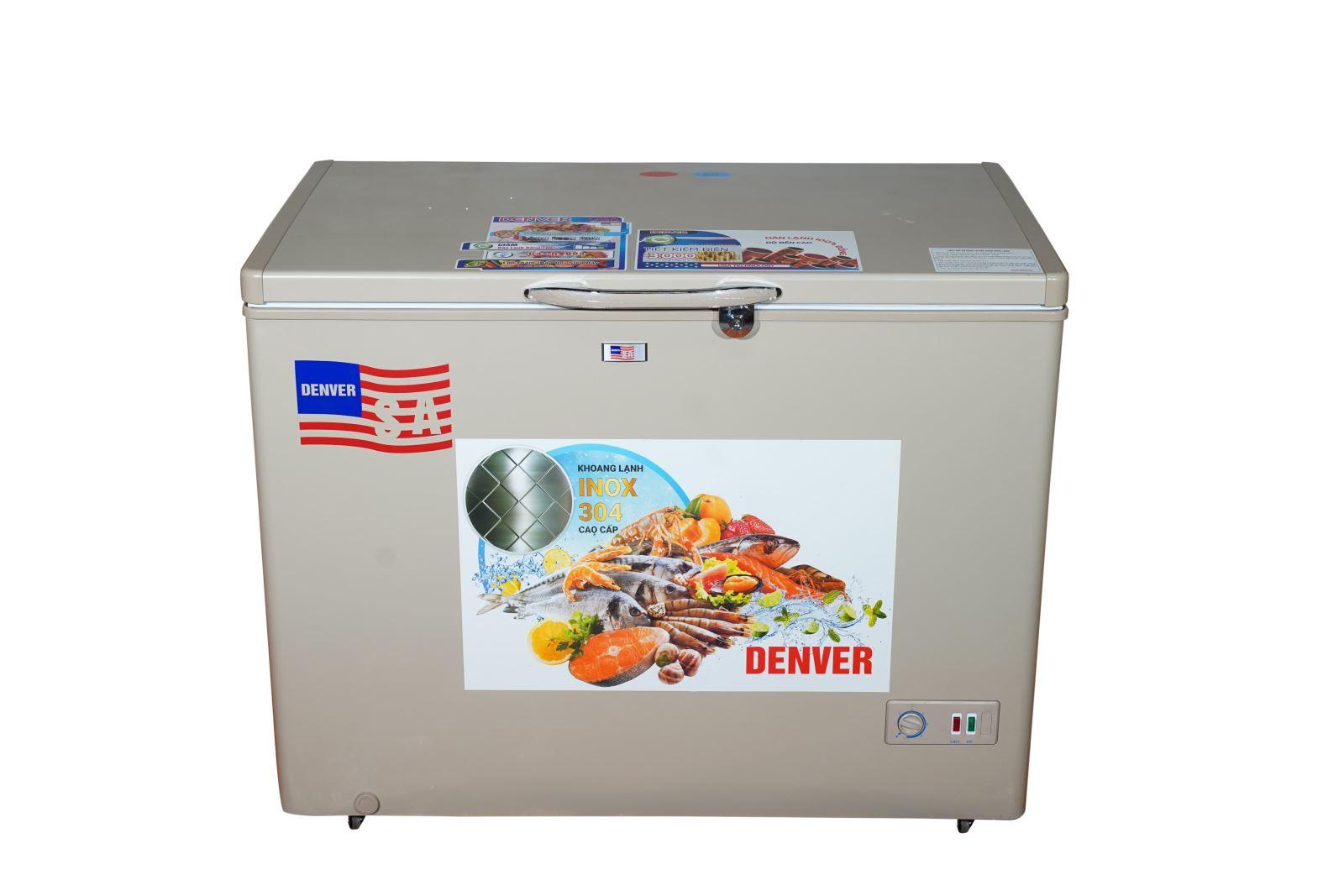 Tủ đông Denver AS 520MD - Lòng chống dính