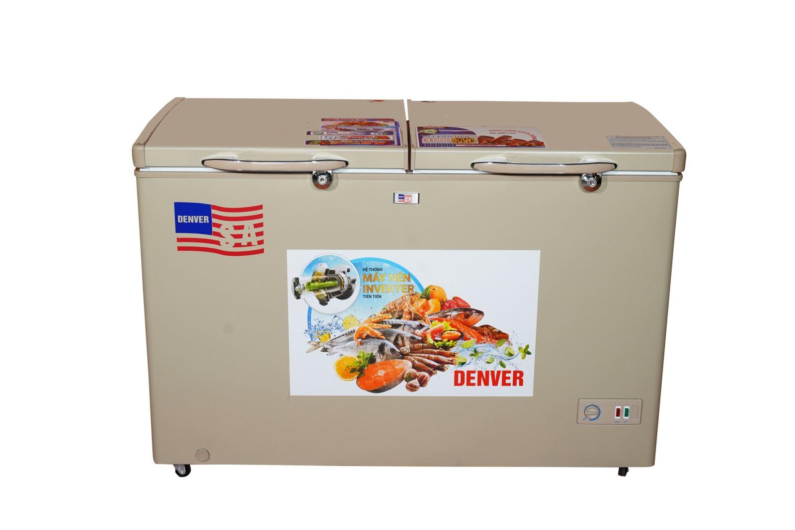 Tủ đông Denver AS 550HDI - Lòng chống dính