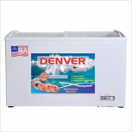Tủ đông mặt kính Denver AS 559K-Lòng chống dính