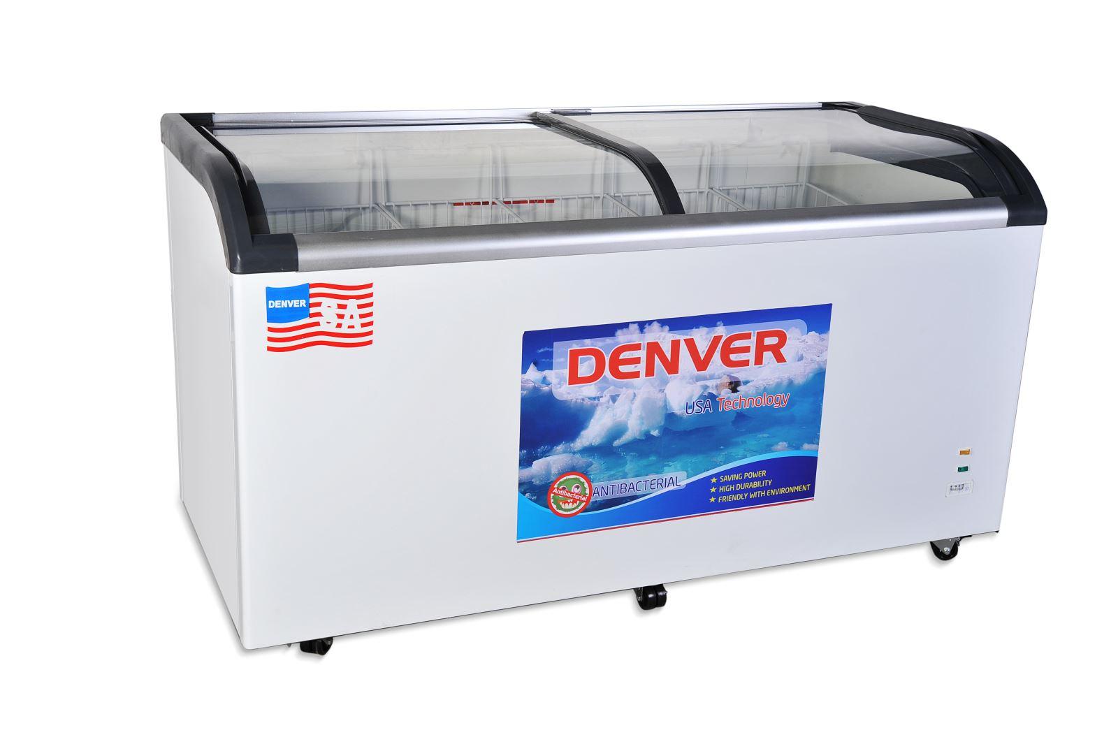 Tủ đông mặt kính Denver AS 880K