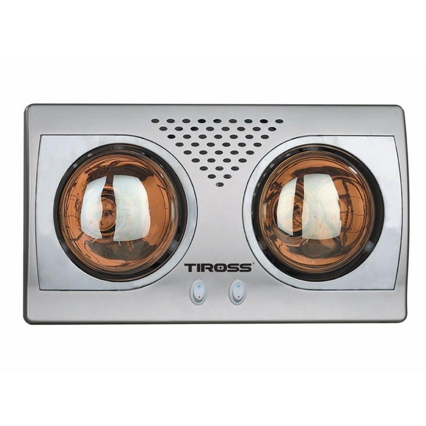 Đèn sưởi nhà tắm Tiross TS9291, 2 bóng