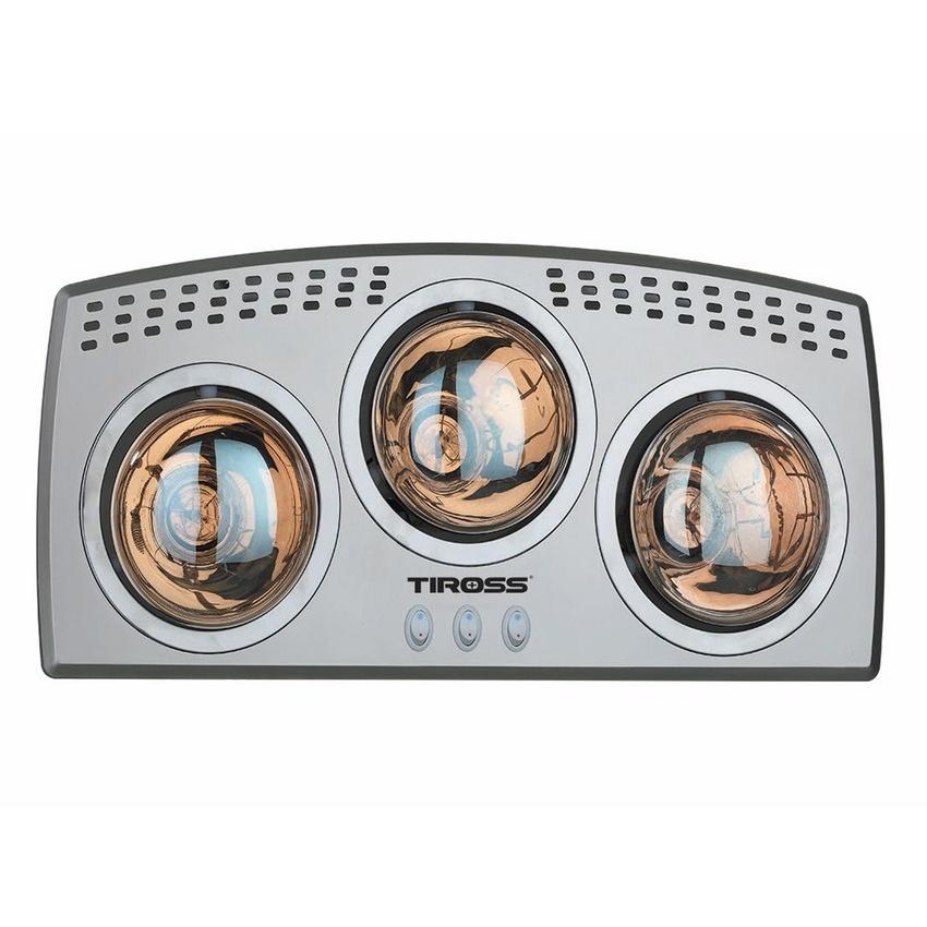 Đèn sưởi nhà tắm Tiross TS9292, 3 bóng