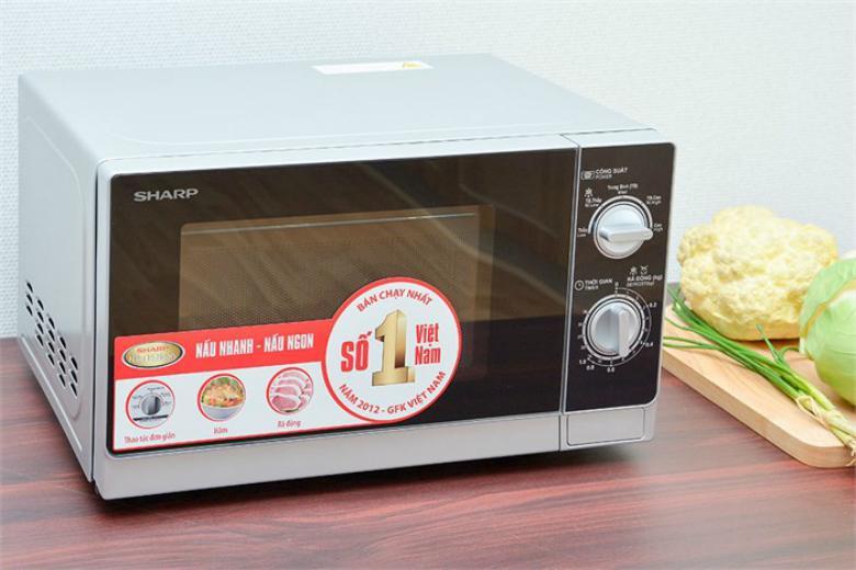 Lò vi sóng Sharp R-205VN-S 20 lít