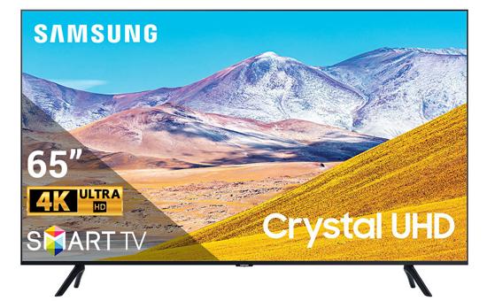 Smart Tivi Samsung 4K 65 inch 65TU8000 Crystal UHD