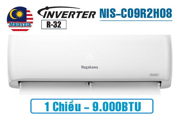 Điều hòa Nagakawa inverter 9000BTU 1 chiều NIS-C09R2H08
