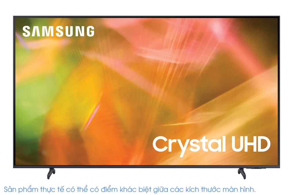 Smart Tivi Samsung 4K 55 inch UA55AU8100